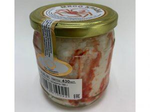 Мясо краба в/с ст/б 430 гр Высший сорт