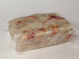 Мясо Камчатского краба салатное 1кг.